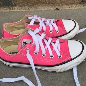 5bf255c45b51ff Converse Shoes - Converse All Star ⭐ Pink Sneakers Size 12
